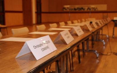 Réunion Conseil Communautaire du 19 septembre à Tresson